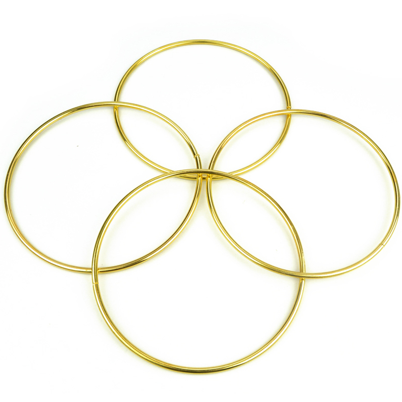 4 Linking Rings(Gold)