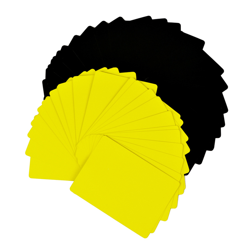 Thin Flying Cards(Yellow)