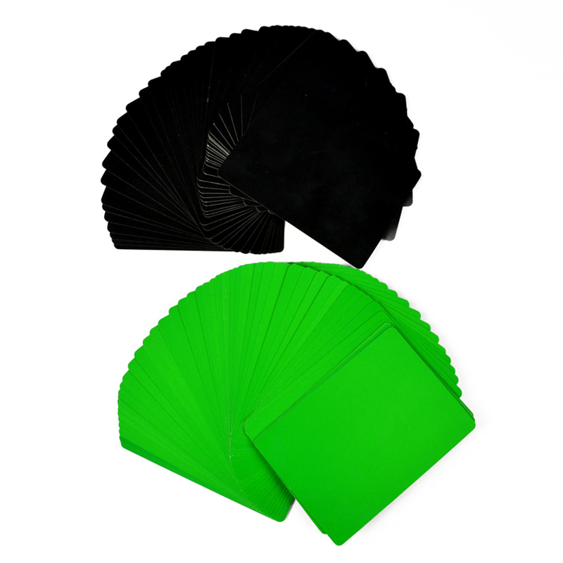 Thin Flying Cards(Green)