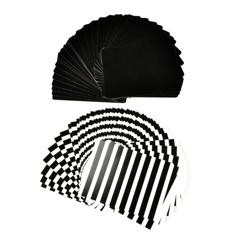 Thin Flying Cards(Black White)