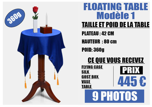 FLOATING TABLE model 1