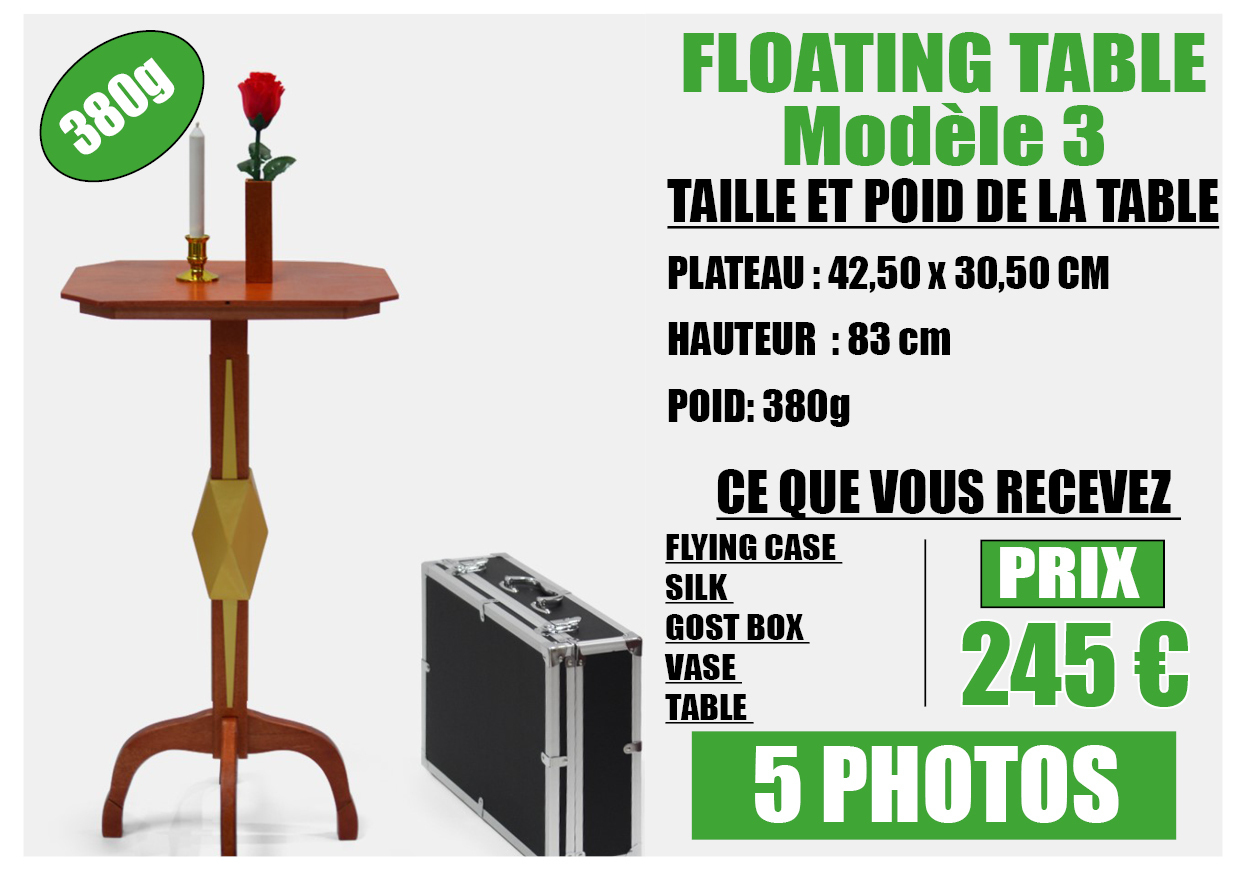 FLOATING TABLE model 3