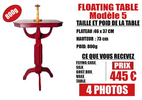 FLOATING TABLE model 5